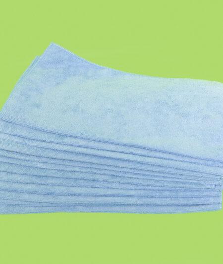 Microfiber Terry Cloths - Blue (15/case)