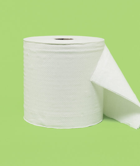 towel roll white
