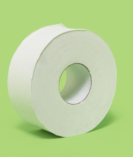 2PLY WHITE JUMBO ROLL TISSUE (12/case)