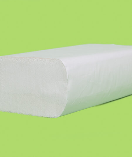 Truly Green White Multifold Towels (4000/case)